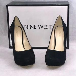 Nine West Delay Dress Heels Platforms Pumps Size 9